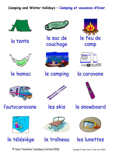 Holidays in French Word Searches (2 Wordsearches)