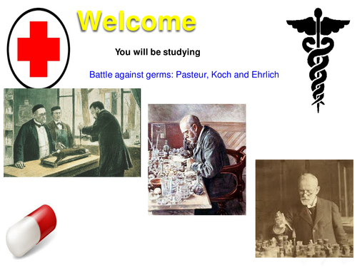 The work of Pasteur, Koch and Ehrlich