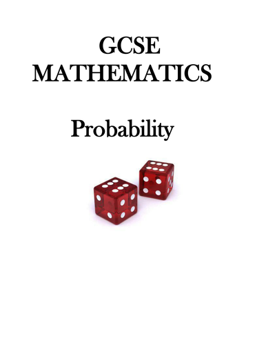 GCSE Mathematics - Probability
