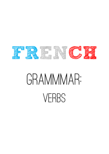 GCSE French Verbs Guide