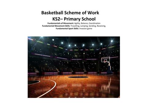 Basketball KS2 7 week scheme of work