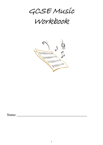 GCSE Music Workboook