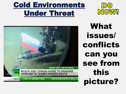New AQA GCSE The Living World- Cold Environments Lesson #4
