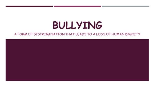 Bullying- CSPE