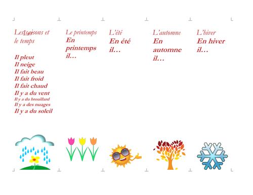 Seasons-Bookmarks