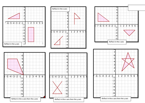 Reflection worksheets by judsonb Teaching Resources Tes – Math Reflection Worksheets