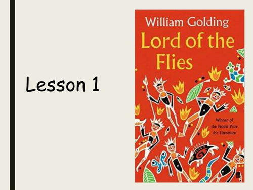 Lord of the Flies - Chapter 7 - AQA 2016 onwards