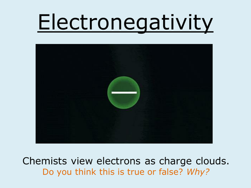 A Level Chemistry AQA (New Spec) Bonding Lesson 3 - Electronegativity