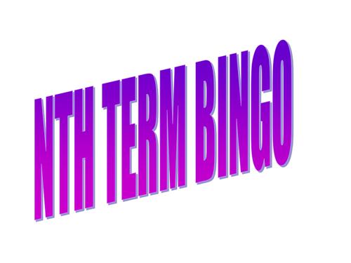 2018 GCSE MATHS Nth term and simplifying algebra. Mathematics