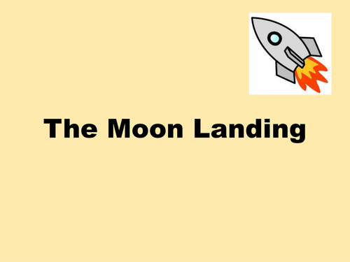 Space Exploration Lesson - a comparison between the 1969 Moon Landing and the 2000s.