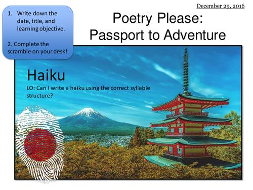 Writing Haikus
