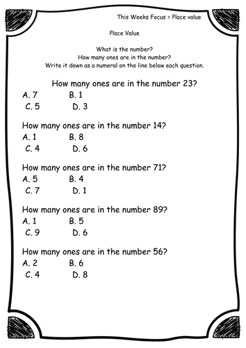Elementary School math for early childhood lesson plans and ...