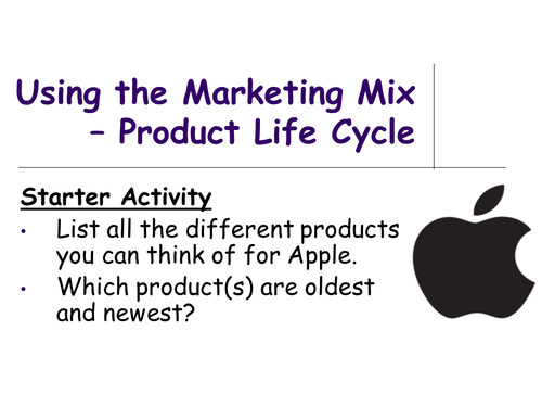 Product Life Cycle - Business Studies