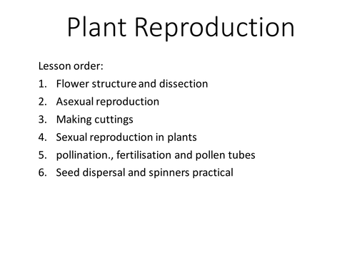 Leaf structure create a labelled diagram ks3sen by ks3 plant reproduction set of lessons ccuart Image collections