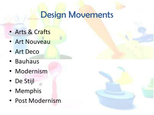 Design Movements
