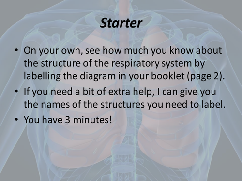 Structure and function of the respiratory system gcse pe by structure and function of the respiratory system gcse pe by franferrrari teaching resources tes ccuart Choice Image