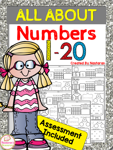 ALL ABOUT Numbers 1-20 + Assessment