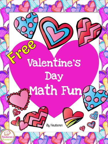 Free Valentine's Day Math Fun