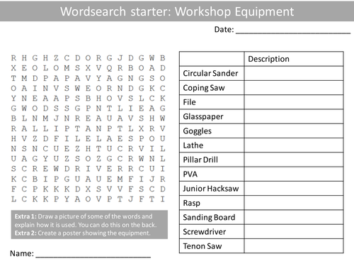 Tools Worksheets by hjh210585 Teaching Resources Tes – D Rt Worksheets
