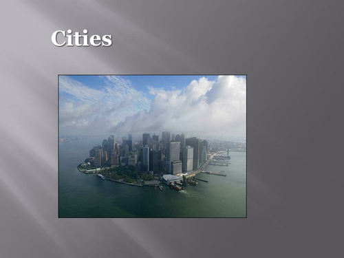 Global Cities present and future powerpoint presentation to inspire own designs and preferences