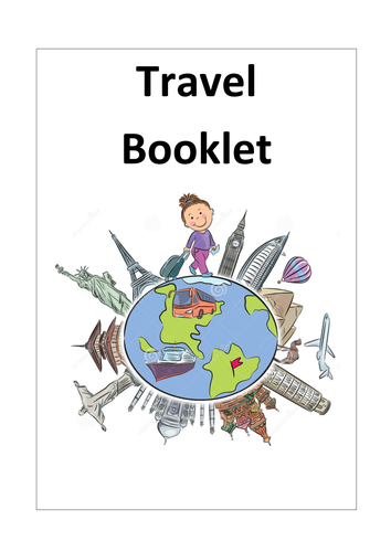 English Travel Booklet - Activity/Homework