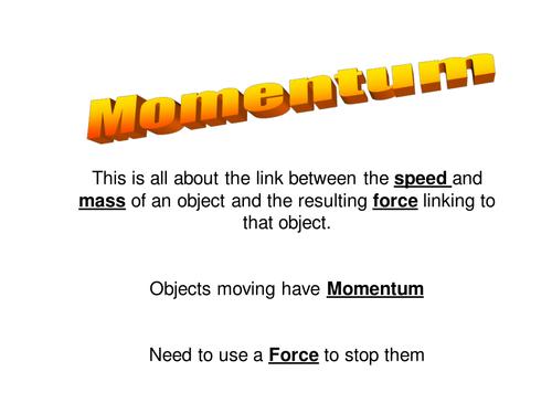 AQA GCSE Physics on Momentum P2