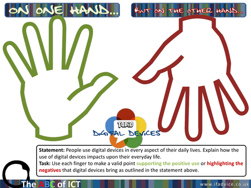 Extended Questions 6 mark revision strategy - Digital Devices