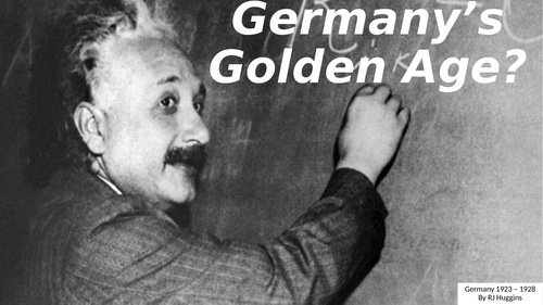 Germany's Golden Age, 1920s