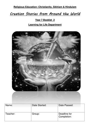 KS3 Creation Stories & Big Bang Theory Workbook