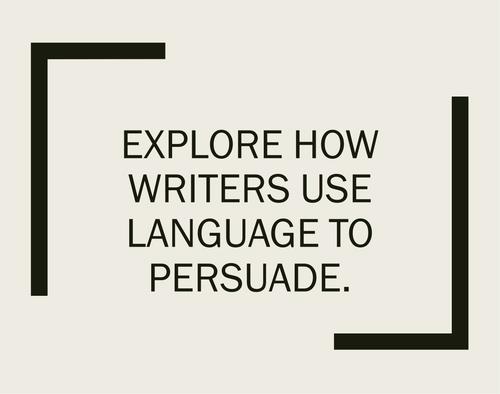 analytical writing frame julius caesar by deepasabharwal language to persuade