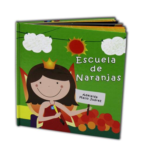Children Illustrated Story Spanish - Escuela de Naranjas