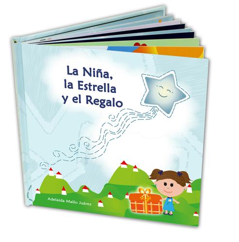 Children Illustrated Story Spanish - La Niña, la Estrella y el Regalo