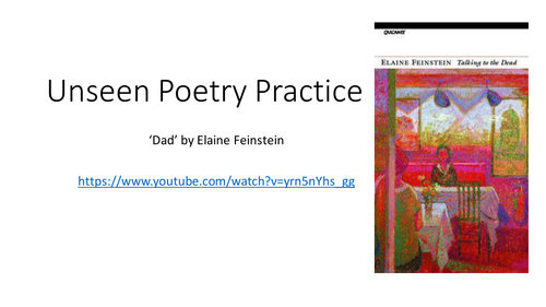 Unseen Poetry- Structure
