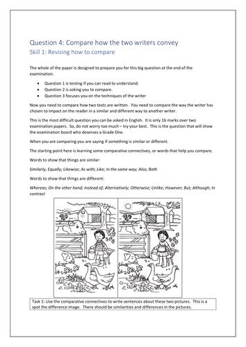 AQA Paper 2 English Language Question 4