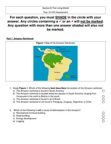 New AQA GCSE The living world- Assessment #2