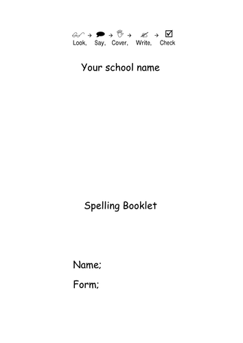 summer writing frame for descriptive writing by  spelling booklet term 3 whole school literacy