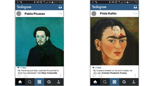 Instagram Selfie Portraits