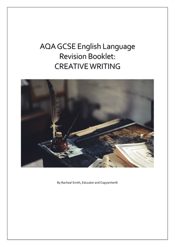 Gcse english creative writing past papers