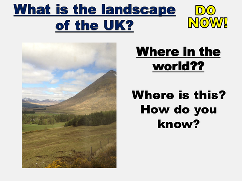 NEW AQA GCSE The Living World- Physical landscape of the UK