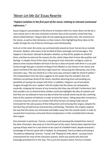 frankenstein isolation essay