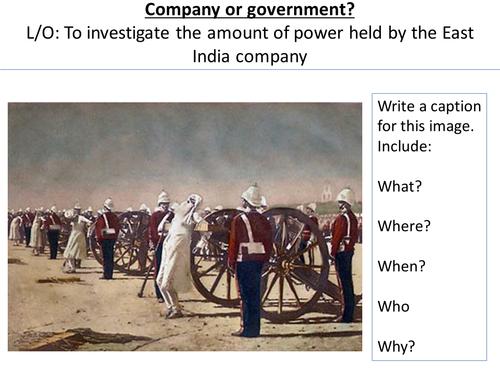 *Full Lesson* British Empire: India and the East India Company