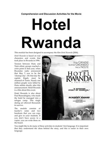 Hotel Rwanda Resources