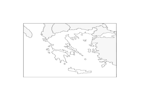 The solar system interactive powerpoint presentation and geography of greece with blank map ccuart Gallery