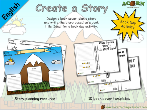 English - Book Day - Create a Story