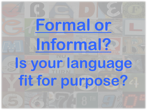 Formal Letter Writing: Preparation Tasks and Assessment