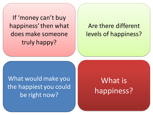 KS3 Religious Studies: Buddhism and Happiness