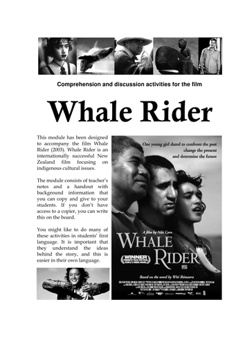whale rider film analysis