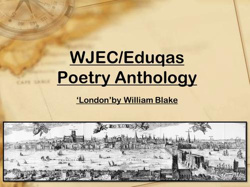 Mini Scheme - 'London' - William Blake - WJEC/Eduqas