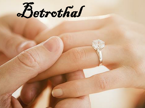 OCR GCE H074 Literature Poetry - 'Betrothal' by Carol Ann Duffy.