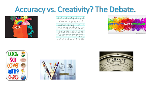 Acquisition of Literacy: Accuracy vs. creativity